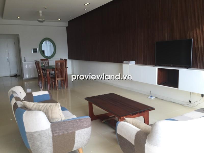 Cho thuê căn hộ Saigon Pearl tòa Sapphire 140m2 3PN view đẹp nội thất cao cấp