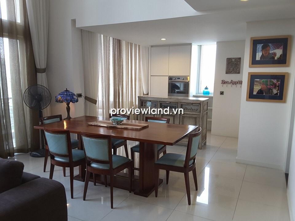 Cho thuê căn hộ Penthouse The Estella 225m2 3PN nội thất cao cấp view hồ bơi tuyệt đẹp