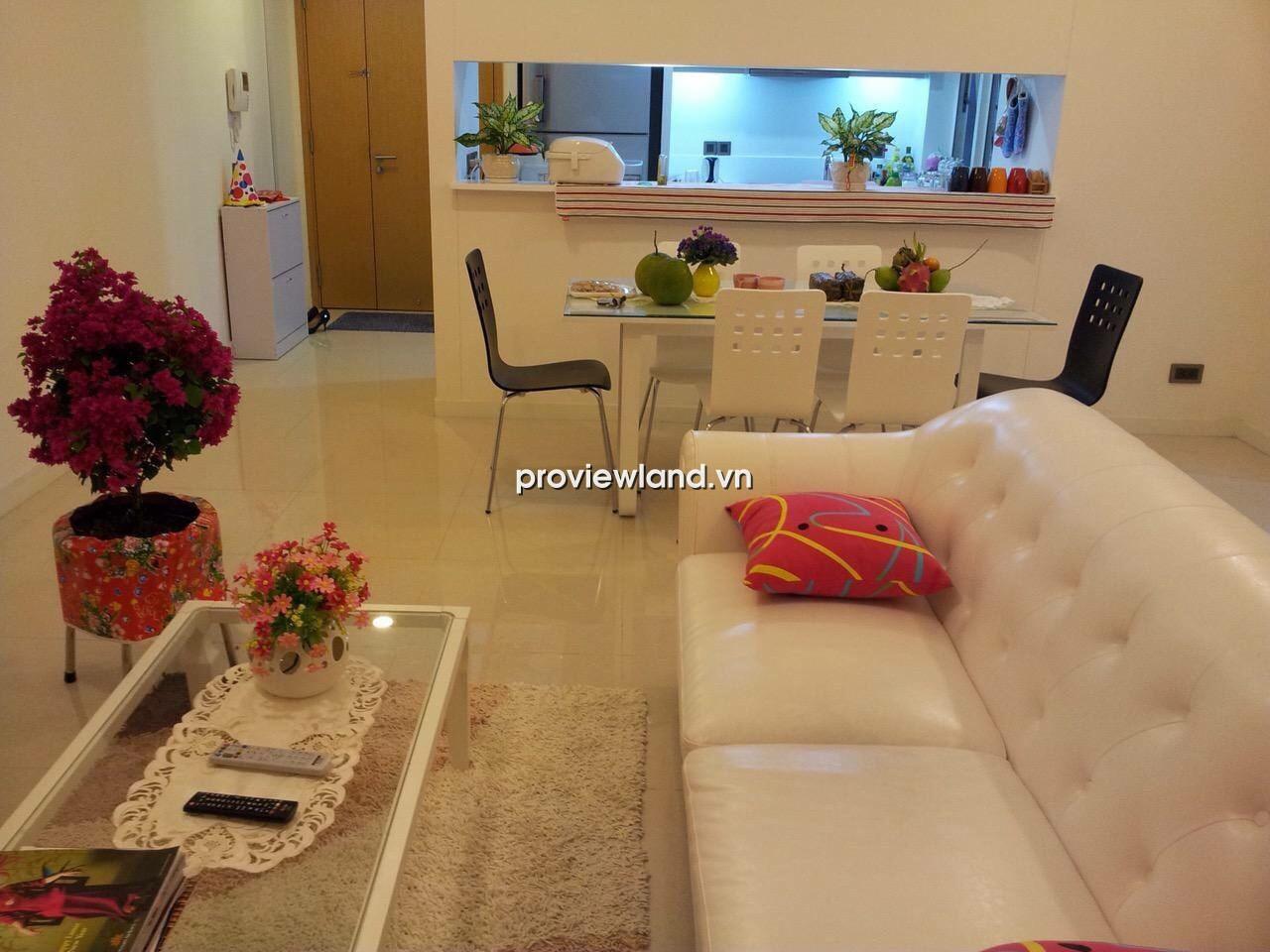 Căn hộ Estella quận 2 tầng thấp DT 110m2 2PN có ban công lớn đầy đủ nội thất cần cho thuê