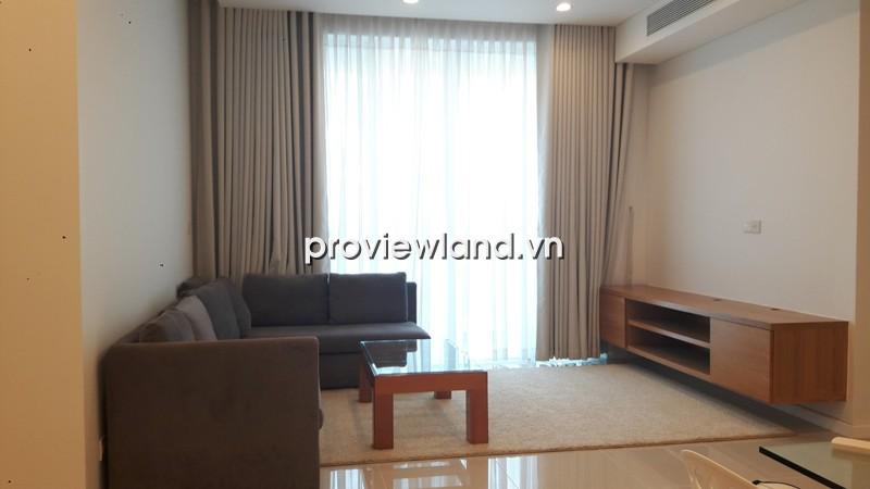 Cho thuê căn hộ Sala 93m2 tầng thấp 2PN có ban công nội thất cơ bản