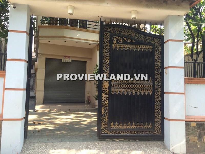 Cho thuê biệt thự đường Phạm Văn Chiêu Gò Vấp 260m2 1 trệt 2 lầu 5PN 2 sân rộng