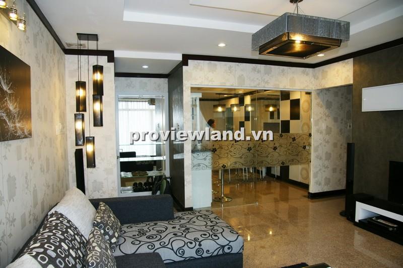 Bán căn hộ Hoàng Anh Riverview 157m2 tầng thấp 4PN có ban công rộng view sông Sài Gòn