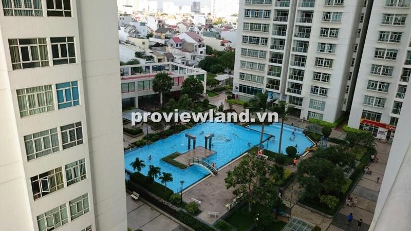 Bán căn hộ Hoàng Anh Gia Lai quận 2 lầu cao 162m2 4PN ban công view sông