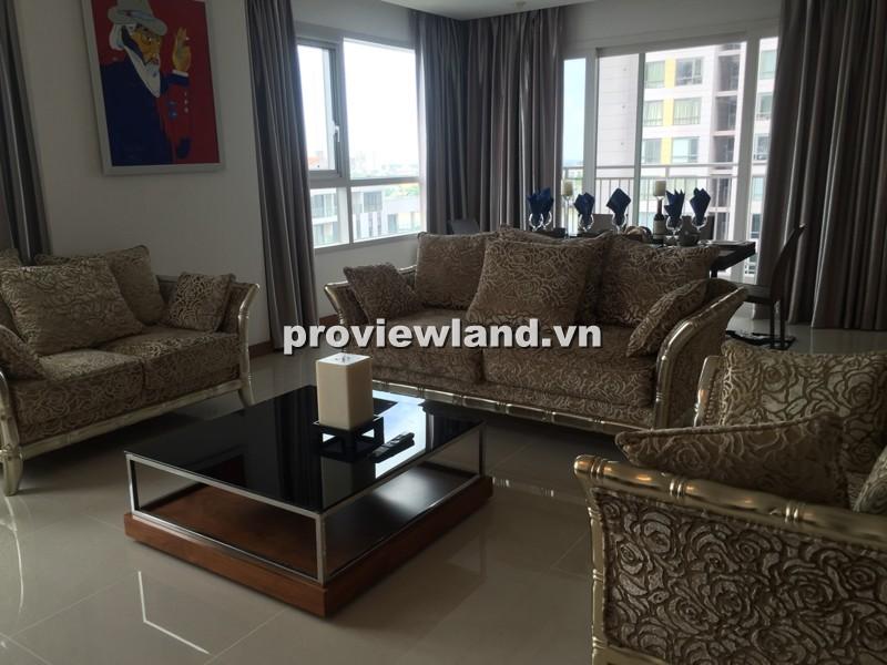 Cho thuê căn hộ XI Riverview tháp T3 201m2 lầu thấp 3PN ban công đẹp view sông