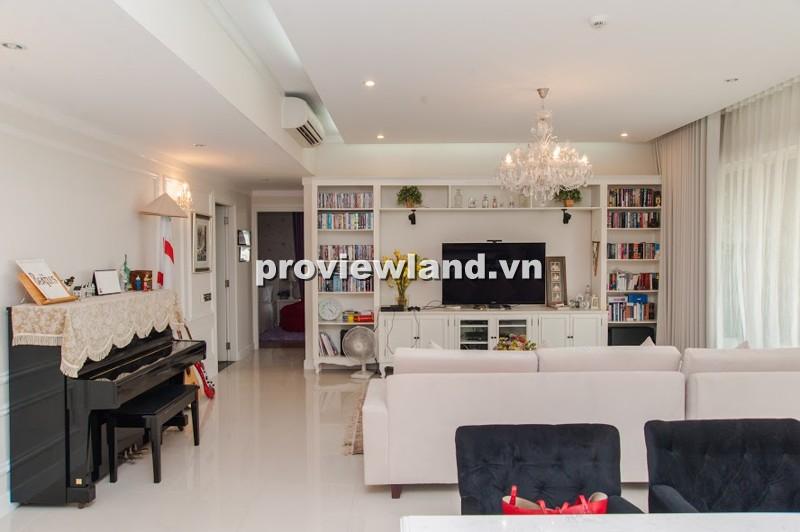 Cho thuê căn hộ The Estella tầng thấp 171m2 3PN có ban công nội thất hiện đại cao cấp