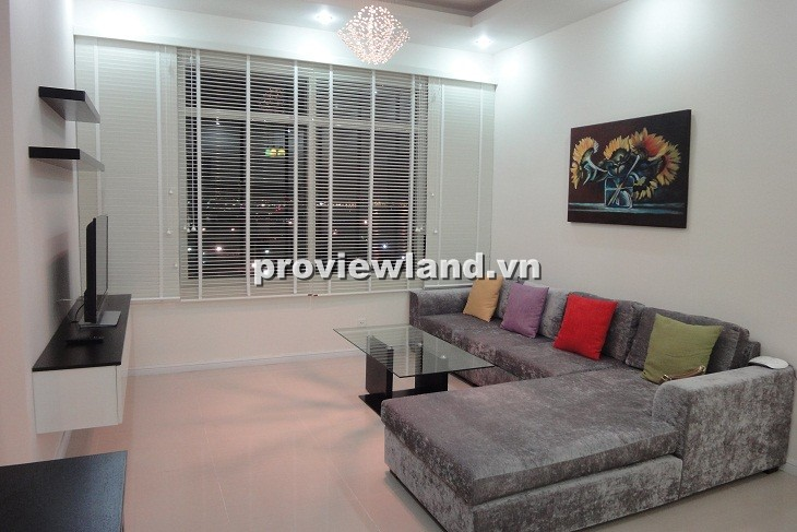 Căn hộ cao cấp Saigon Pearl cho thuê tòa Topaz 90m2 2PN nội thất hiện đại tiện nghi