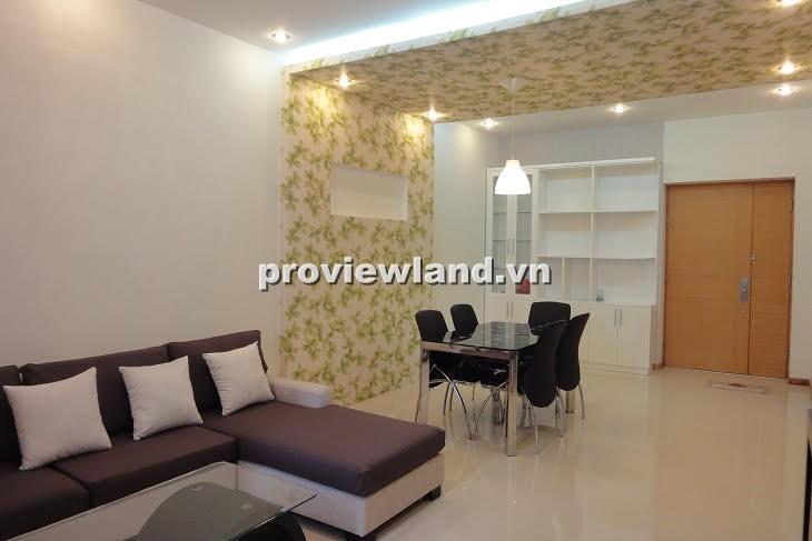 Cho thuê căn hộ Saigon Pearl tầng cao 90m2 2PN nội thất hiện đại thiết kế sang trọng