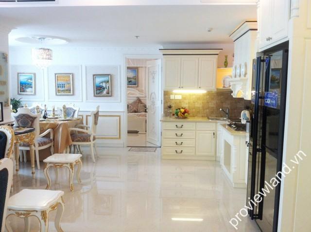 Bán căn hộ The One quận 1 lầu cao 117m2 2PN ban công thoáng nội thất hiện đại hoàn thiện