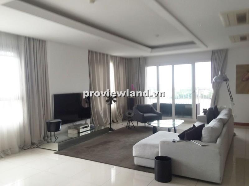 Cho thuê căn hộ XI Riverview 201m2 tầng thấp 2PN ban công rộng nội thất tiện nghi