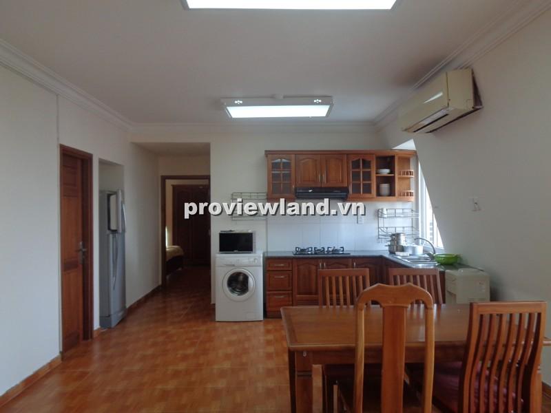 Cho thuê căn hộ dịch vụ đường Nguyễn Văn Hưởng 120m2 3PN nội thất cao cấp