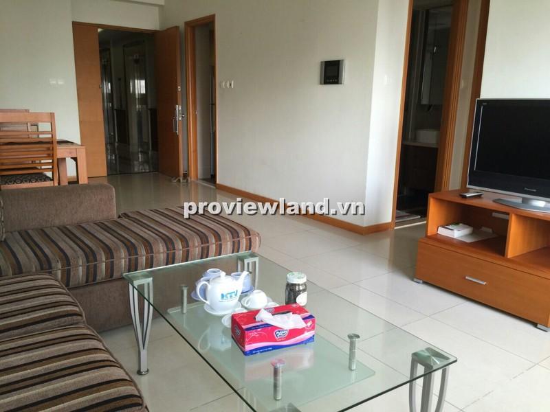 Cho thuê căn hộ cao cấp Saigon Pearl tòa Ruby lầu cao 86m2 2PN nội thất đẹp tiện nghi