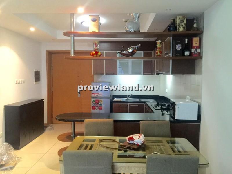 Bán căn hộ Saigon Pearl tòa Topaz tầng thấp 90m2 2PN view quận 1 đầy đủ nội thất tiện nghi