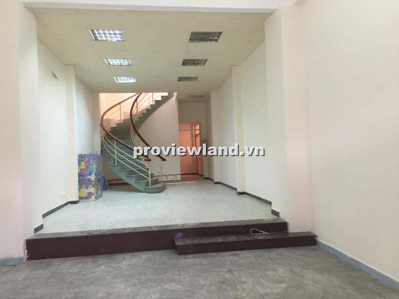 Cho thuê nhà mặt tiền đường Võ Trường Toản gần chợ Bà Chiểu 5x18m 2 lầu có sân thuợng
