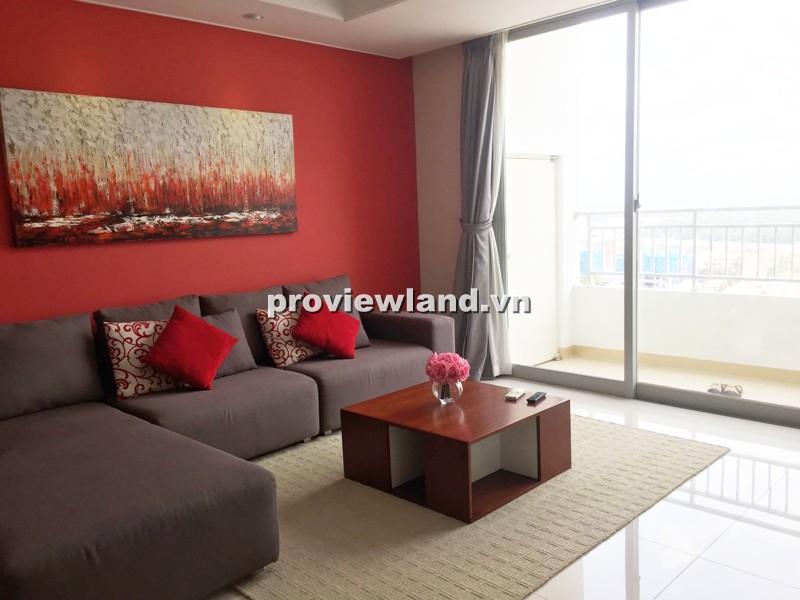Cho thuê căn hộ Cantavil Premier tầng cao 125m2 3PN ban công thoáng nội thất sang trọng