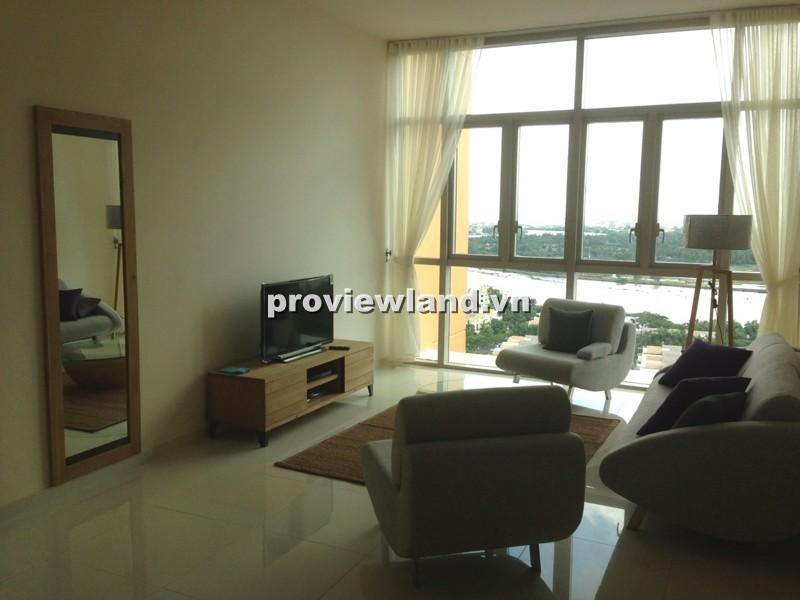 Bán gấp căn hộ The Vista tầng cao 104m2 2PN nội thất hiện đại view sông đẹp mắt
