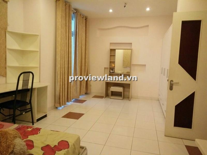 Cho thuê biệt thự khu Compound Thảo Điền 300m2 4PN nhà trống không nội thất