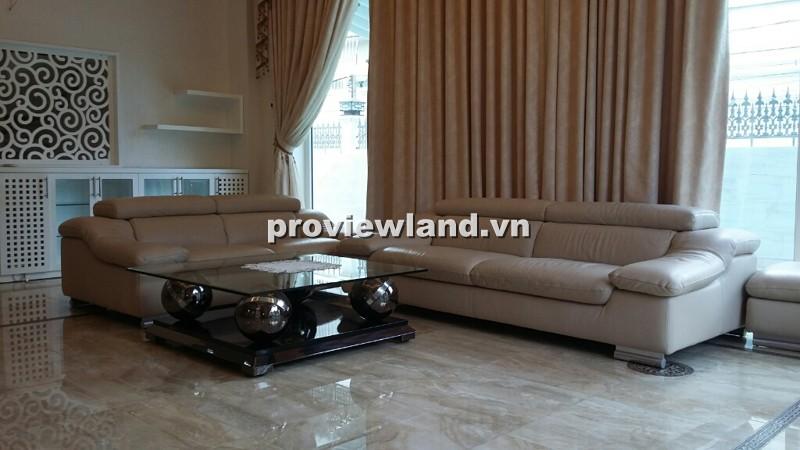 Cho thuê biệt thự đường Lê Văn Miến 200m2 có hồ bơi sân vườn khu dân trí cao