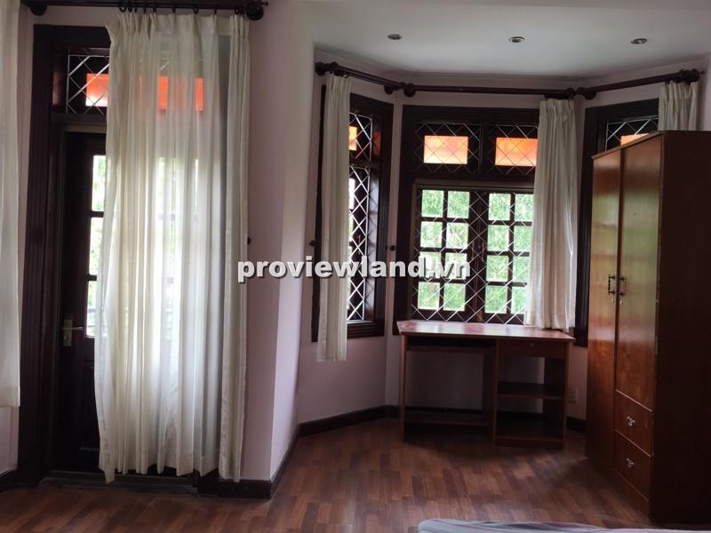 Cho thuê biệt thự Quốc Hương Thảo Điền 250m2 3PN thiết kế thoáng đầy đủ nội thất