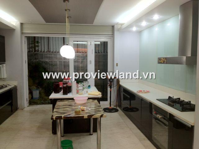 Cần cho thuê biệt thự Saigon Pearl Bình Thạnh 147m2 2 lầu 4PN bếp rộng