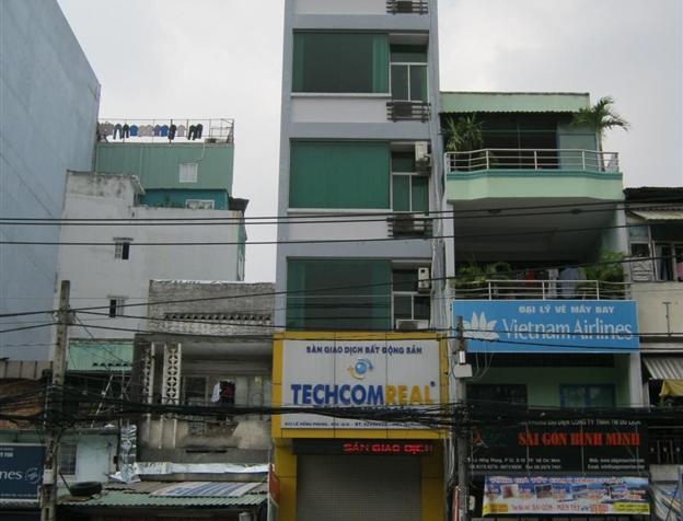 Bán gấp nhà mặt tiền Lê Hồng Phong quận 10 DT 473m2 khu sầm uất vị trí đẹp