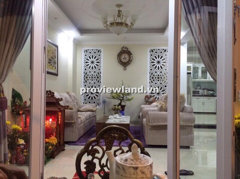 Cho thuê biệt thự mini Thảo Điền 1 trệt 2 lầu 3PN DT 10x12m có sân vườn và gara