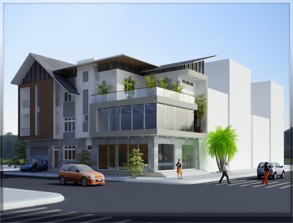 Cho thuê biệt thự quận 1, cho thuê 900m2 đất mặt tiền Nguyễn Văn Thủ Quận 1 và căn góc 2 mặt tiền đường lớn
