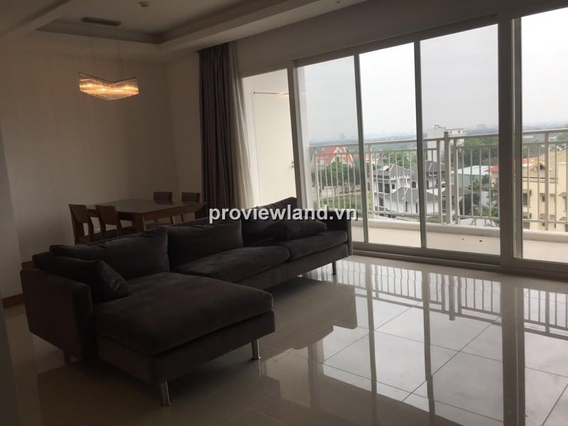 Căn hộ XI Riverview cho thuê DT 145m2 3PN nội thất cao cấp có ban công view thoáng