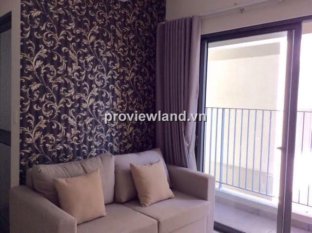 Cho thuê căn hộ Masteri Thảo Điền tháp T1 tầng cao 67m2 2PN view hồ bơi