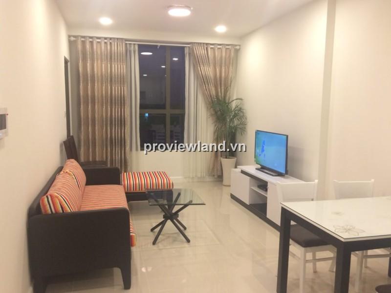 Cho thuê căn hộ dịch vụ đường Bến Vân Đồn DT 70m2 2PN thiết kế rộng rãi cao cấp