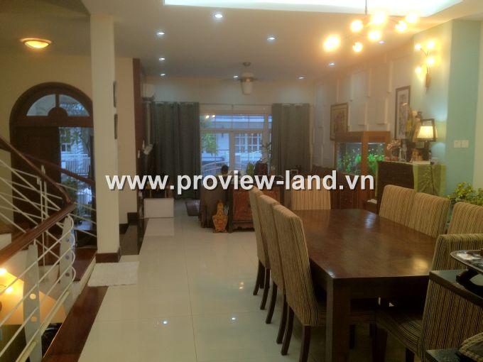 Bán Villa Sài Gòn Pearl gồm 4PN – 5WC có diện tích sử dụng 500m2