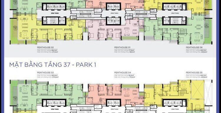 mat-bang-penthouse-park-1-vinhomes-central-park