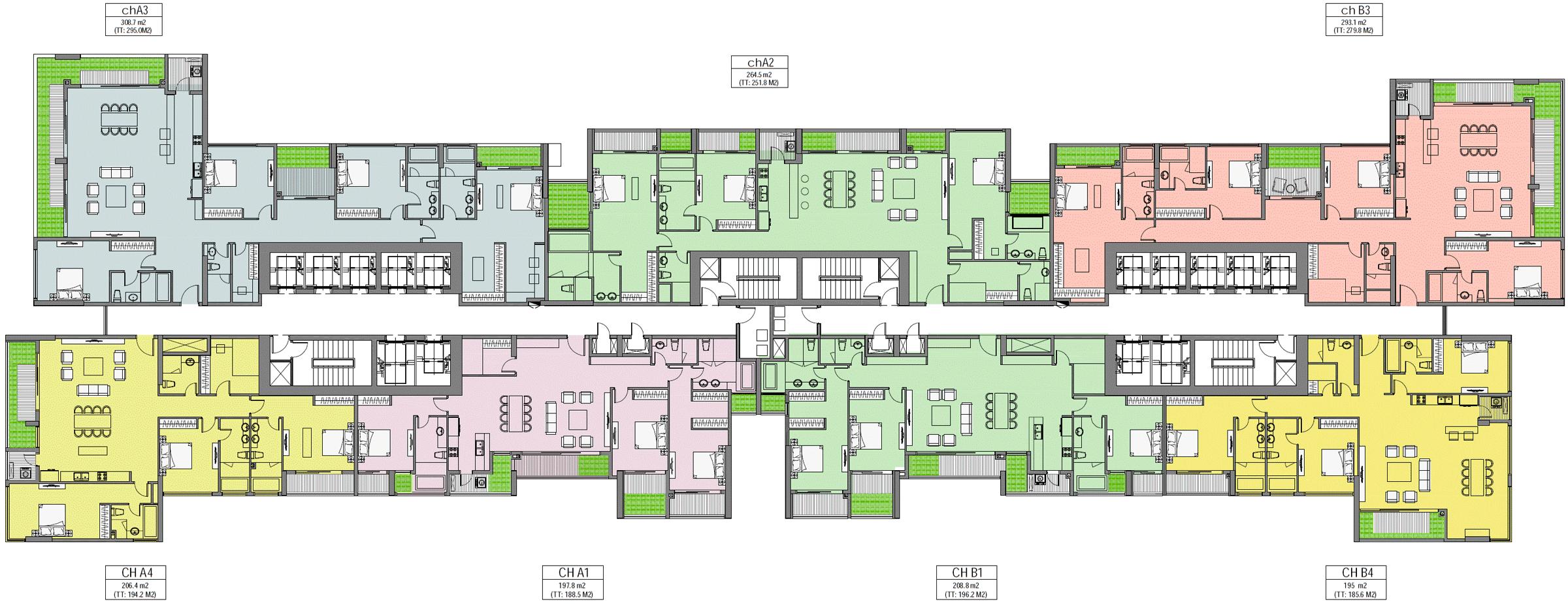 Căn hộ Penthouse tòa Park 6 cần bán thiết kế hiện đại thông thoáng view đẹp