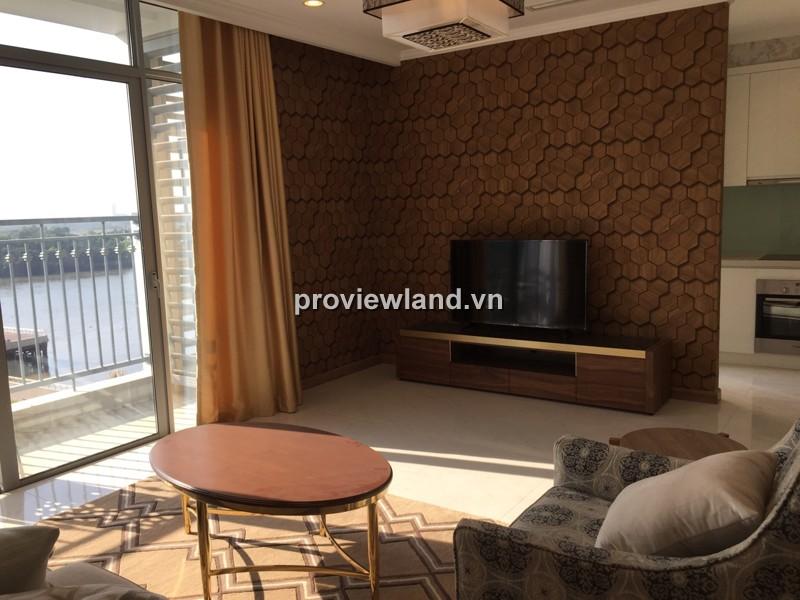 Căn hộ Vinhomes tòa Central 1 tầng thấp 160m2 3PN nội thất cao cấp view sông Sài Gòn