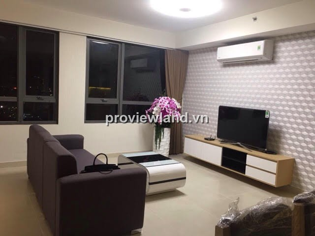 Apartment for rent in Masteri Thao Dien high floor modern furniture with 3 bedrooms