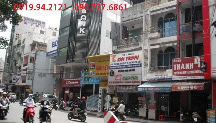 Lô đất 2 mặt tiền Bùi Thị Xuân quận 1 DT 10×27 tiện xây dựng khách sạn văn phòng