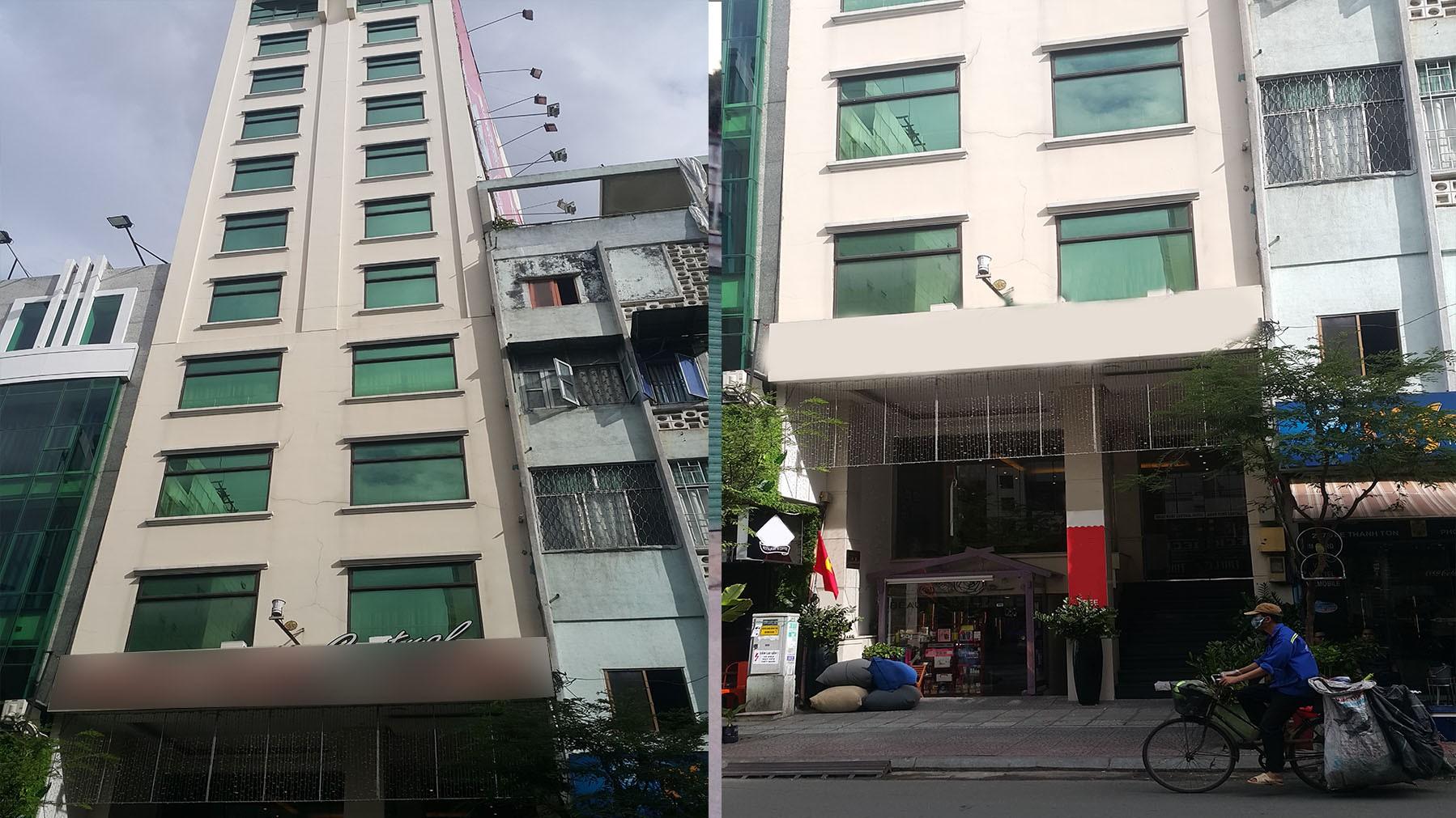 Khách sạn mặt tiền đường Lê Thánh Tôn 8x18m 1 hầm 8 tầng 50 phòng thu nhập cao
