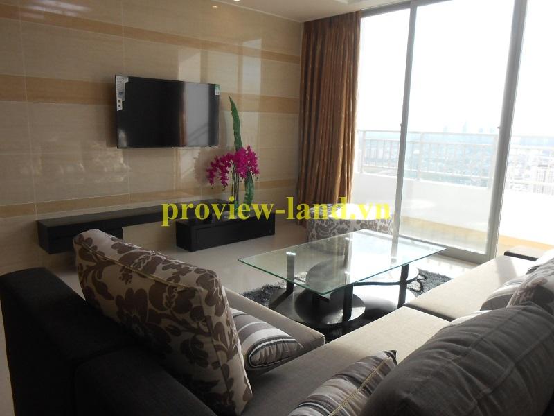 Cho thuê căn hộ Cantavil Premier tầng cao nhà hoàn toàn mới