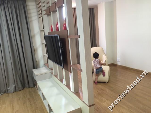 Cho thuê căn hộ 176m2 3 phòng ngủ tại Cantavil Premier
