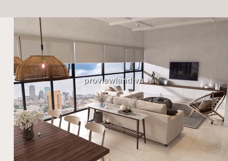 Căn hộ cao cấp Ascent Thảo Điền 99m2 tầng cao 3PN nội thất cao cấp thiết kế hiện đại