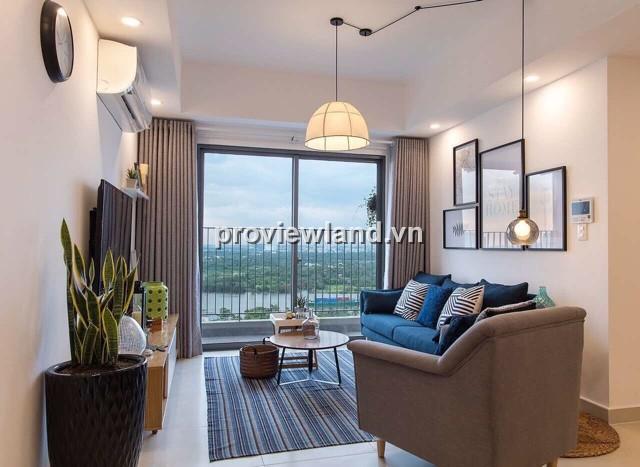 Căn hộ Masteri Thảo Điền 92m2 3PN tầng cao tháp T4 view sông Sài Gòn thoáng mát