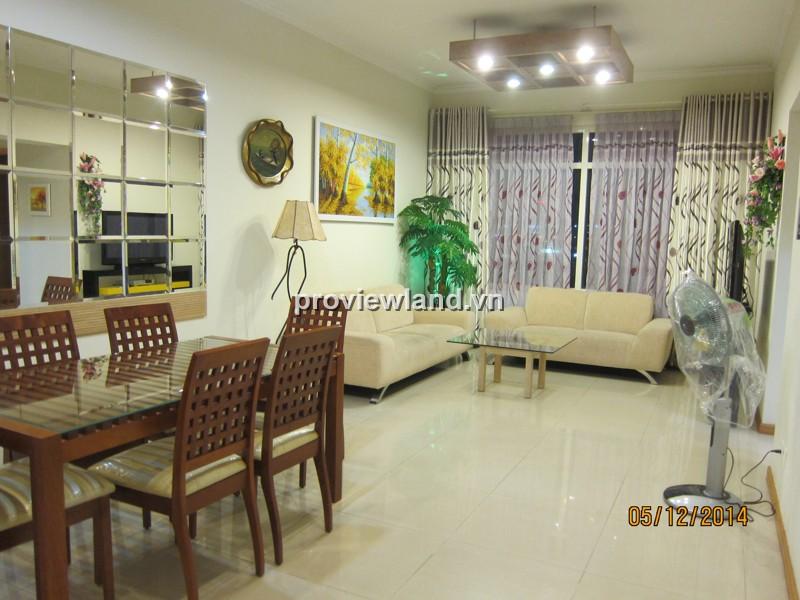 Căn hộ Saigon Pearl tòa Toapz 90m2 tầng thấp 2PN nội thất hiện đại thiết kế thoáng