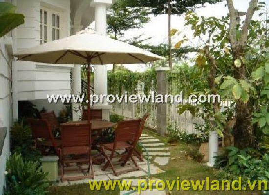 Cho thuê biệt thự đẹp Saigon Pearl 500m2 4PN nội thất sang trọng quận Bình Thạnh