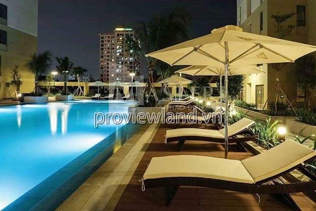 Masteri Thảo Điền cho thuê căn hộ 52m2 1PN nội thất đầy đủ cao cấp