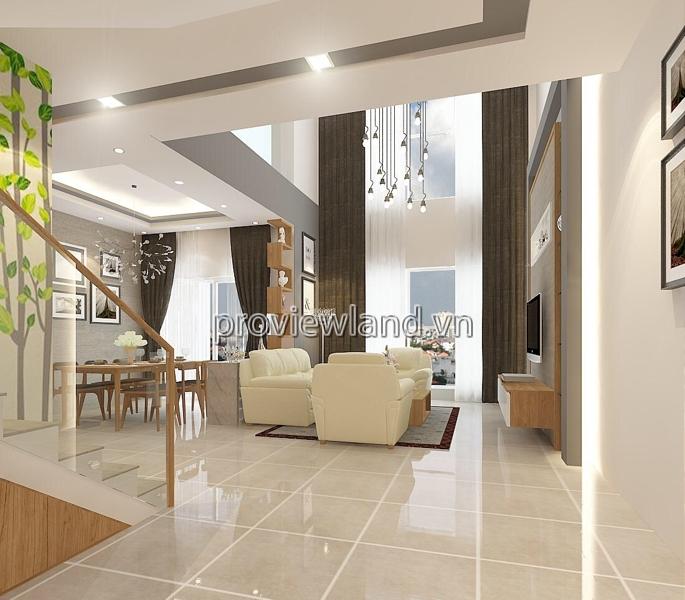 Căn Penthouse cao cấp Tropic Garden có DT 210m2 4PN nội thất sang trọng đầy đủ
