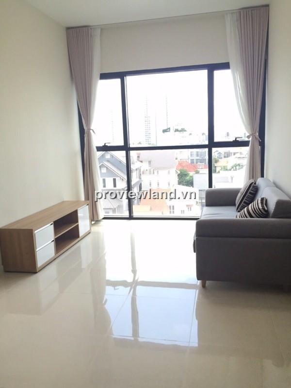 Căn hộ Ascent Thảo Điền tầng thấp block B 70m2 2PN nội thất cơ bản view thoáng