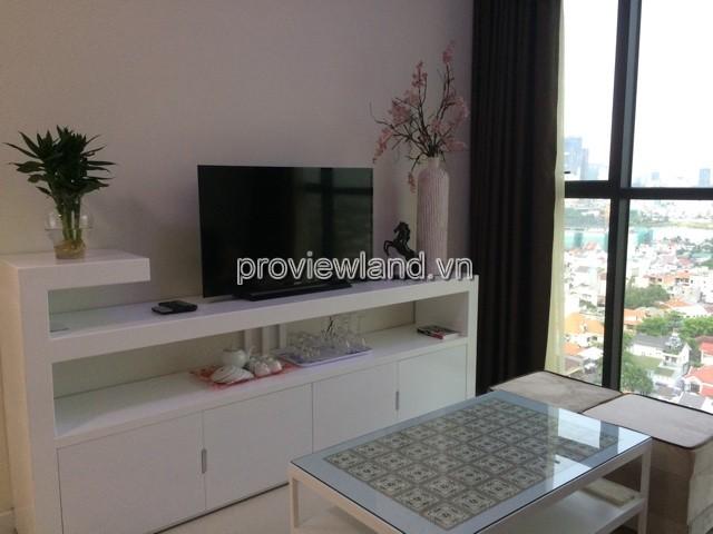 Căn hộ Acsent Block B tầng cao với DT 69m2 2PN view thành phố nội thất cao cấp