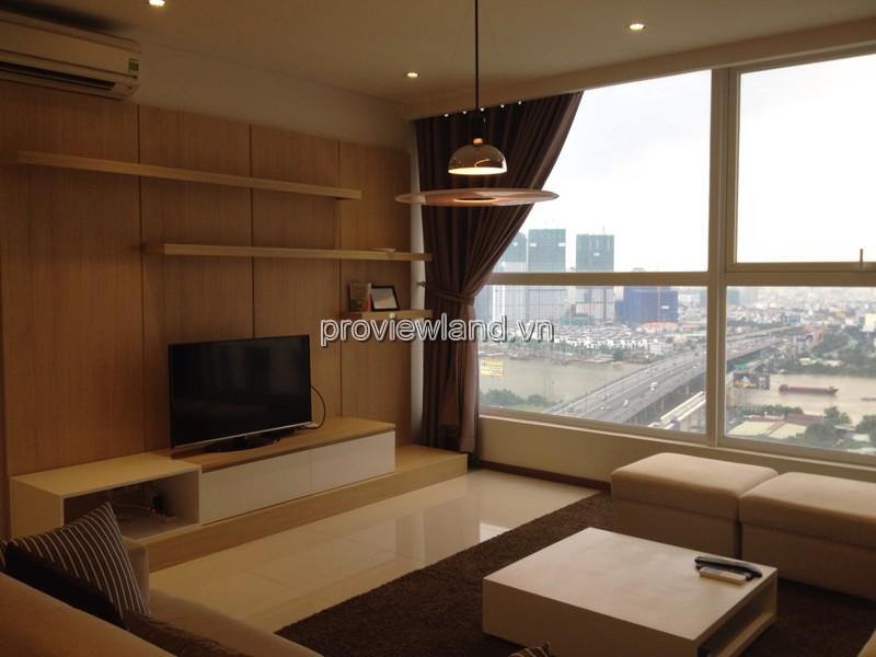 Thảo Điền Pearl căn hộ cao cấp cho thuê 132m2 tầng cao view sông