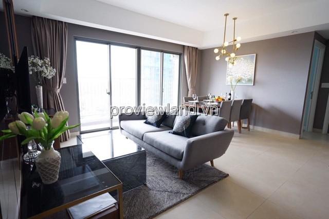 Cho thuê căn hộ Masteri Thảo Điền DT 93m2 3PN tầng cao view sông full nội thất