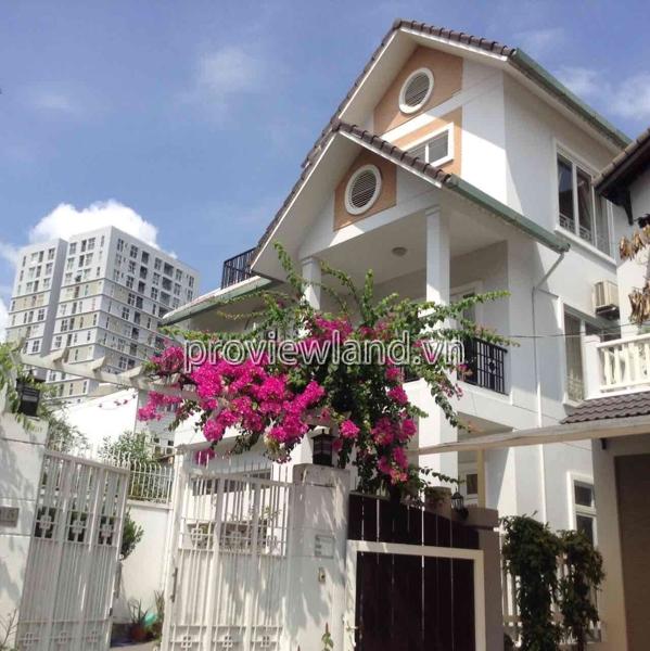 Cho thuê biệt thự Thảo Điền 4PN hồ bơi sân vườn rộng NTĐĐ