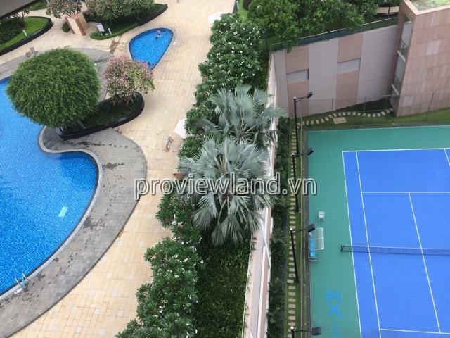 Cho thuê căn hộ Xi Riverview view hồ bơi DT 145m2 3PN đầy đủ nội thất